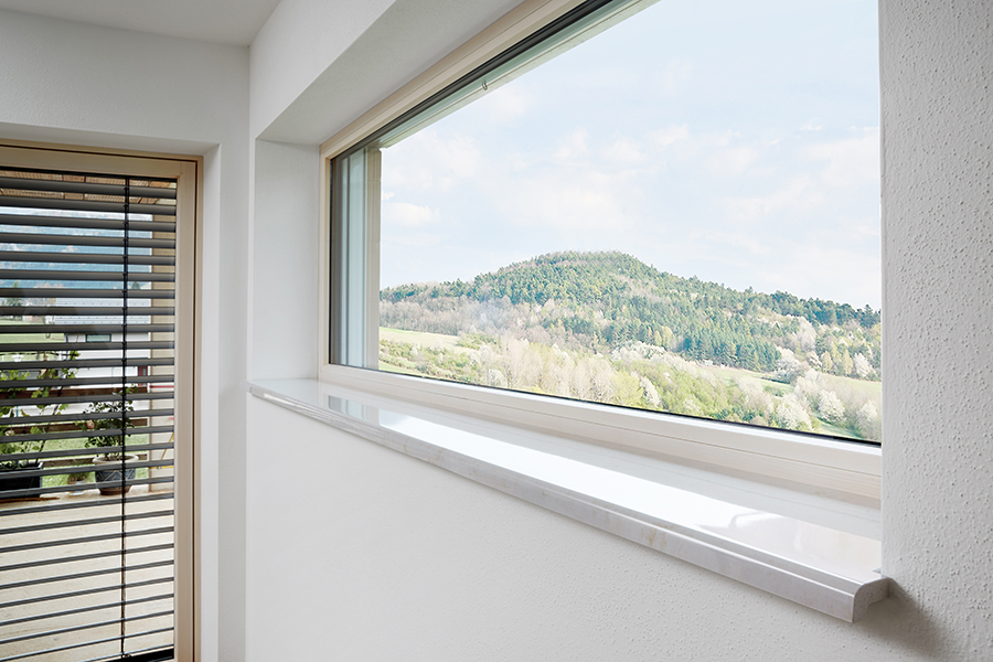 Fensterbänke in Gussmarmor - helopal, puritamo, fenorm